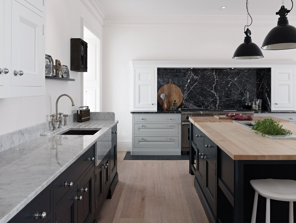 Bespoke Kitchen Black White