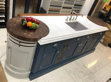 Bespoke Kitchen Blue