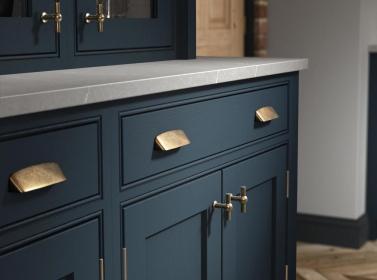 Bespoke Kitchen Blue