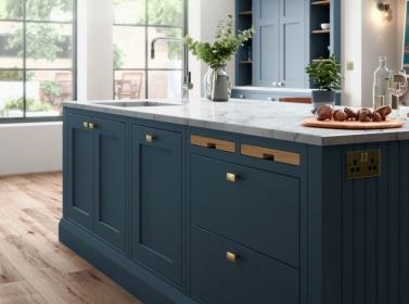 Bespoke Kitchen Blue 5