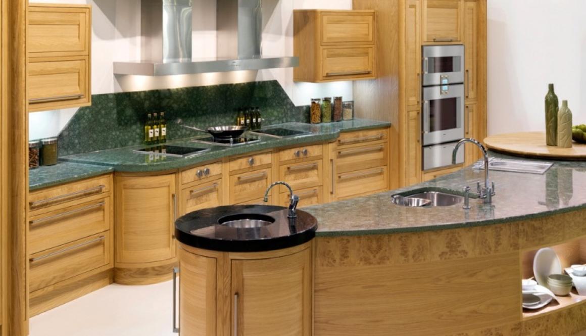 Bespoke Kitchen Burr Oak