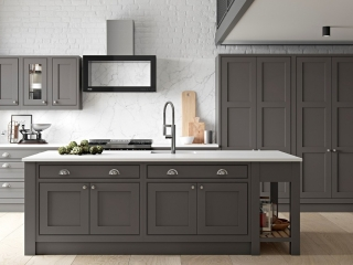 Bespoke Kitchen Dark Grey