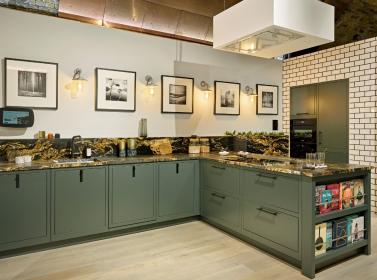 Bespoke Kitchen Green