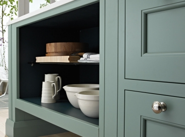 Bespoke Kitchen Green
