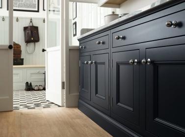 Bespoke Kitchen Grey