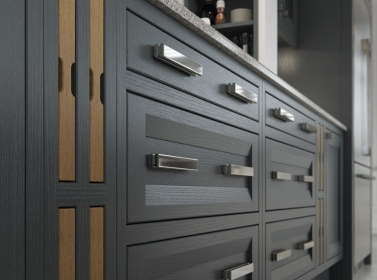 Bespoke Kitchen Gun Metal