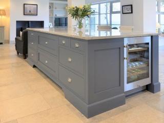 Bespoke Kitchen Light Blue