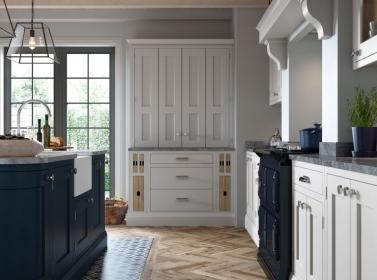 Bespoke Kitchen Light Grey