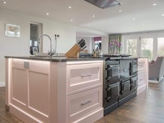 Bespoke Kitchen Pink