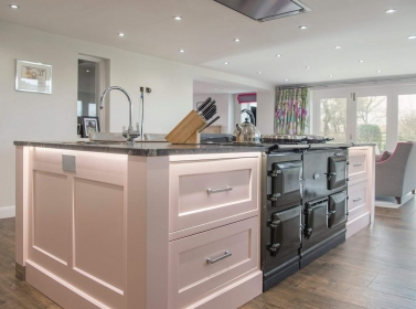 Bespoke Kitchen Pink