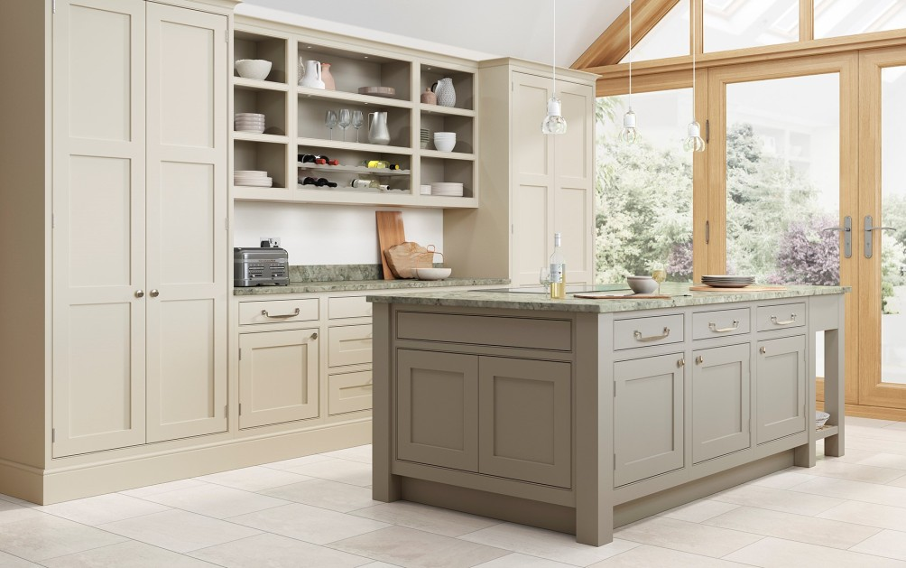 Bespoke Kitchen Taupe