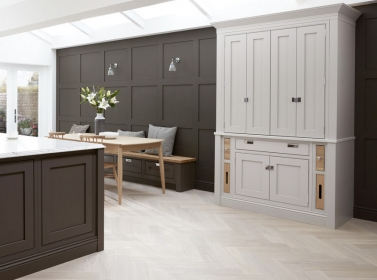 Bespoke Kitchen Brown
