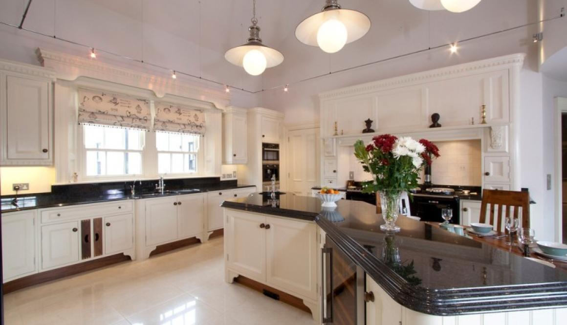 Bespoke kitchen Cream