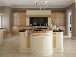 Bespoke Kitchen Cream Oak