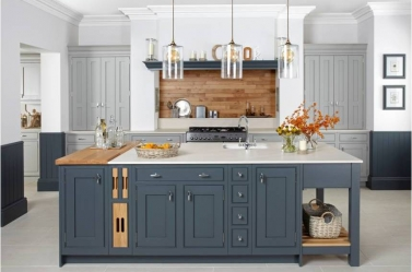 Bespoke Kitchen Bluegrey