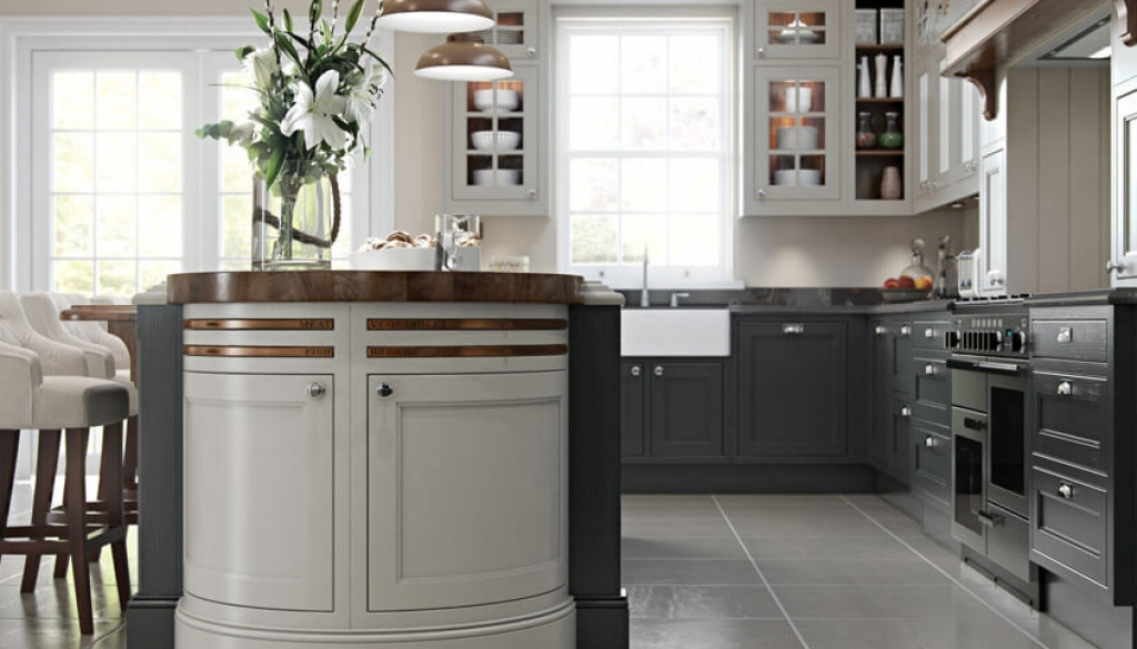 Bespoke shaker kitchens
