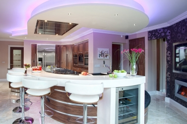Bespoke Kitchen Walnut