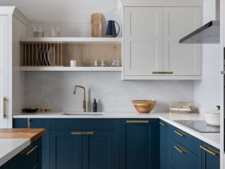 Country Kitchen Blue