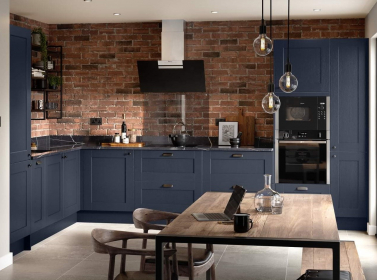 Country Kitchen Dark Blue