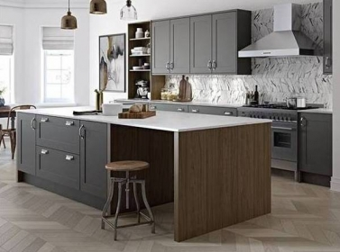 Country Kitchen Dark Grey
