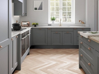 Country Kitchen Mid Grey