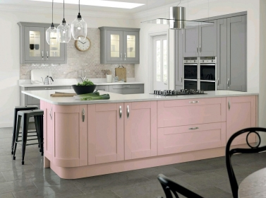 Country Kitchen Pink