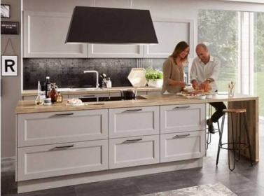 Country Kitchen Stone Grey