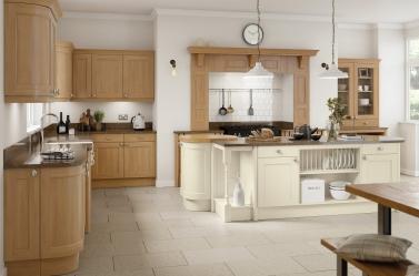 Country Kitchen Cream Oak