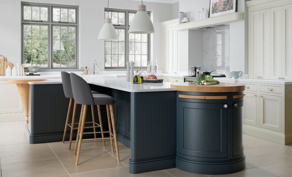 Country kitchen Dark Blue Cream & New Country Kitchens Gallery