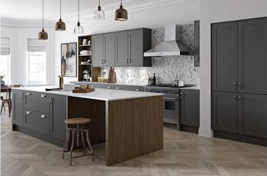 Country Kitchen Dark Grey