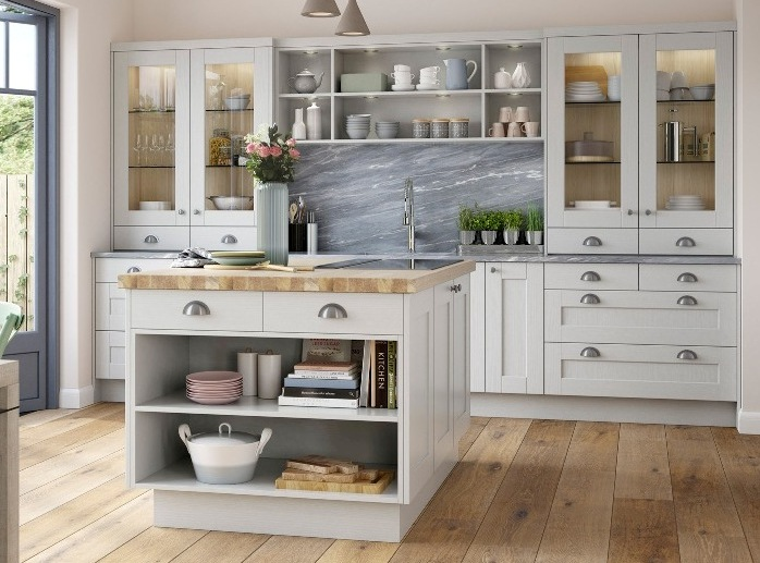 Country Kitchen Light Grey