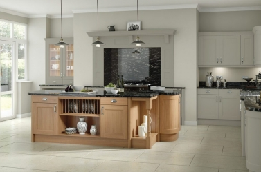Country Kitchen Olive Oak