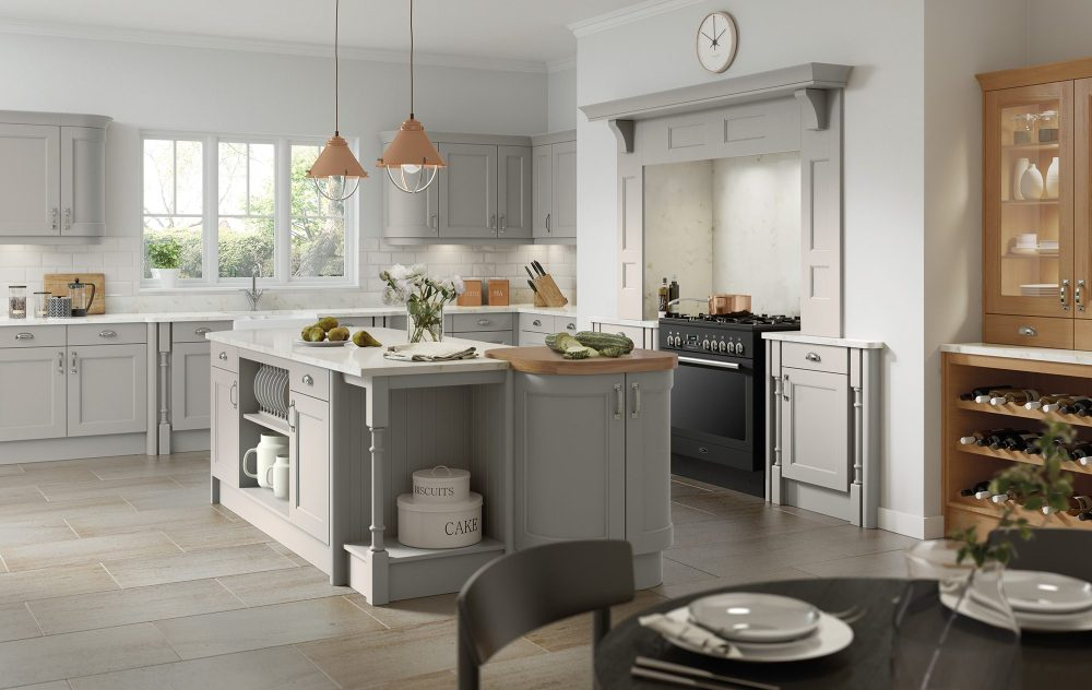 Country Kitchen Silver Grey