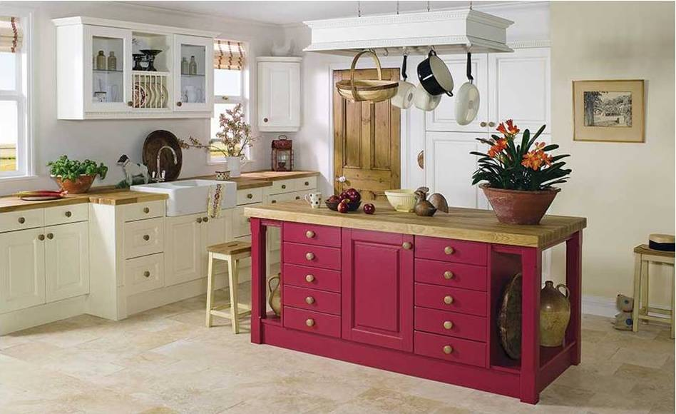 red and cream kitchens new country kitchens gallery 851