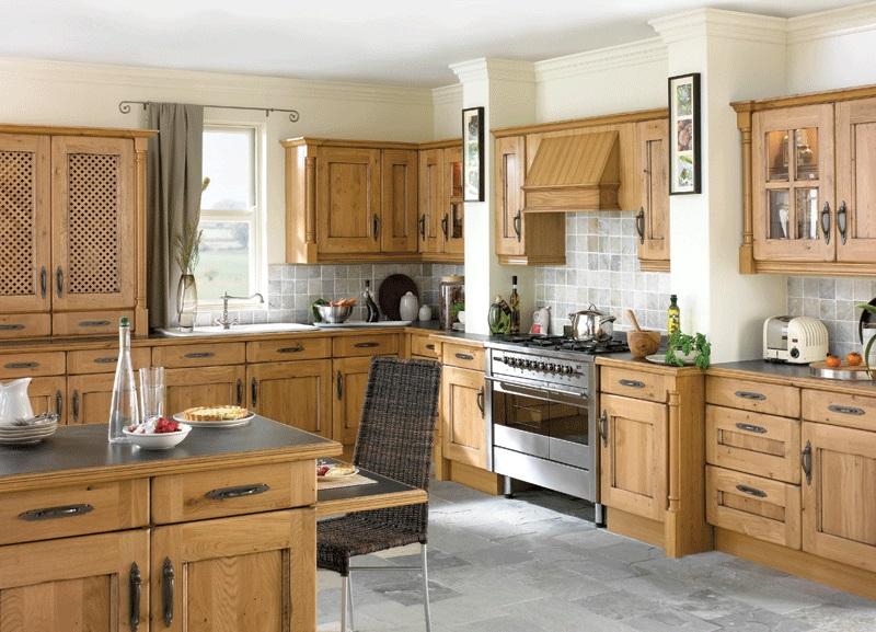 Country Kitchen Pippy Oak