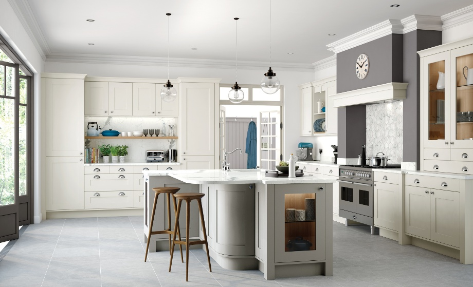 Country Kitchen Porcelain Stone