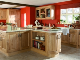 Country Kitchen Wood