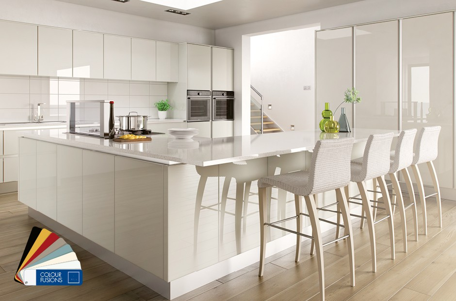 Cream Gloss Kitchen