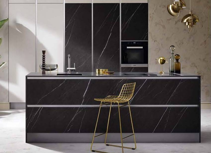 Designer Kitchen Dark Grey Ceramic