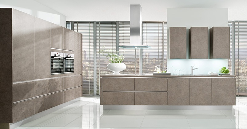 Designer Kitchen Grey Beige