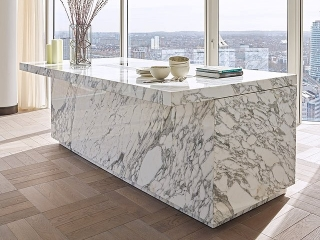 Designer Kitchen Marble Egg