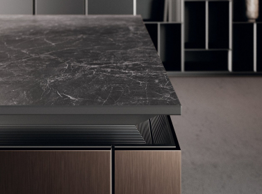 Designer Kitchen Metallic