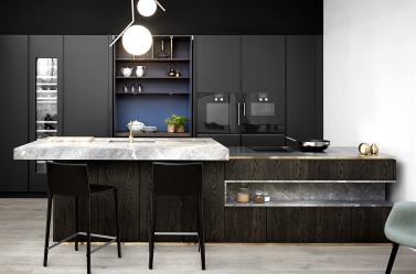 Designer Kitchen Smoked Oak 2 BOF
