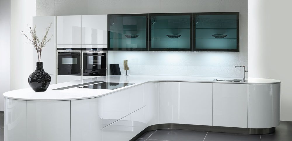White Designer Kitchen home design ideas. kutchentechnik designer kitchens fitted kitchen