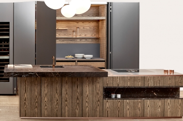 Designer Kitchen Wood BOF