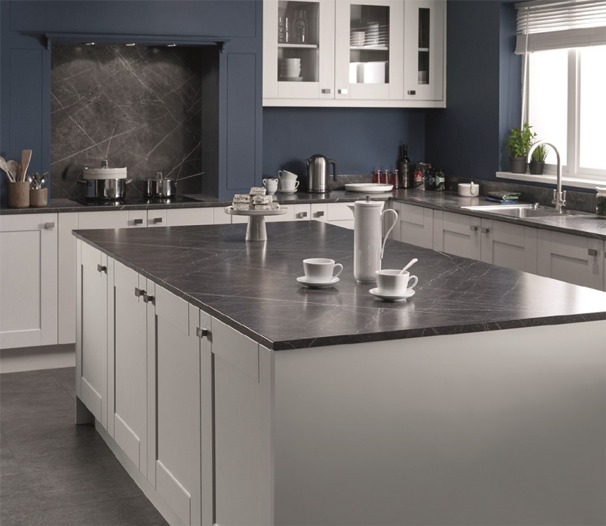 Grey Kitchen Marble Worktop: 5 Ways To Get A Designer Kitchen Look On A Shoestring Budget