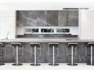 Designer Kitchen Grey Stone 2