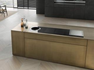 Metallic designer kitchen