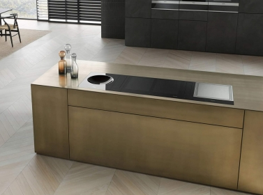 Metallic designer kitchen