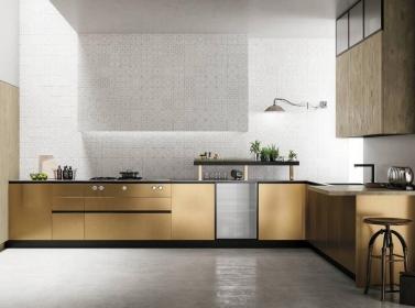 Designer Kitchen Metallic